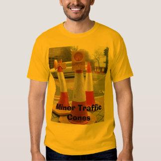 Miner Cones, Miner Traffic Cones Tee Shirts