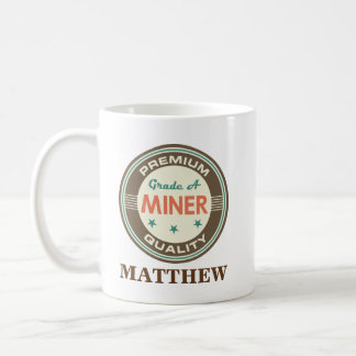Miner Personalized Office Mug Gift