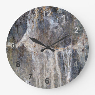 Mineral Cave Large Clock