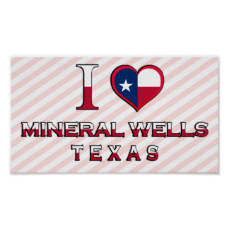Mineral Wells, Texas Poster