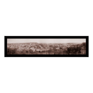 Mineral Wells TX Scene Photo 1906 Poster