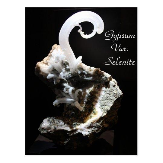 Minerals & Gems # 55 Postcard