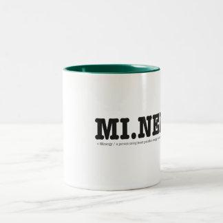 Minergy (minimal energy) coffee mugs