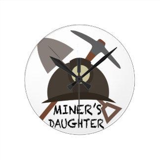 Miner's Daughter Wall Clocks