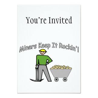 Miners Keep It Rockin Card