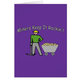 Miners Keep It Rockin Card