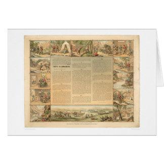 Miner's Ten Commandments (1081A) Greeting Card