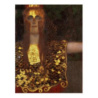 Minerva or Pallas Athena Postcard