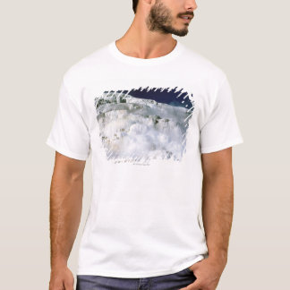 Minerva Terrace in Yellowstone National Park T-Shirt