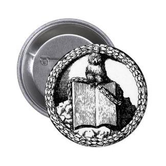 Minerval Insignia 6 Cm Round Badge