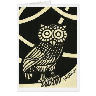 Minerva's Owl Card