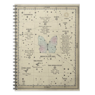MING REALITIES GALAXY MAP NOTEBOOK