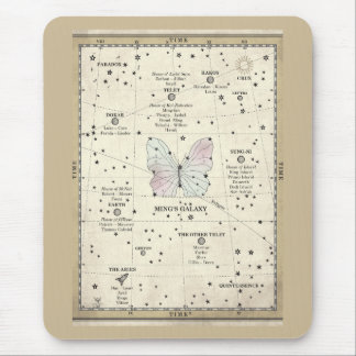 MING'S GALAXY MAP MOUSEPAD
