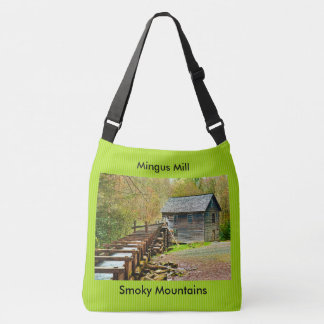 Mingus Mill, Great Smoky Mountains Travel Picture Crossbody Bag