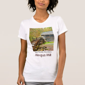 Mingus Mill, Great Smoky Mountains T-shirts