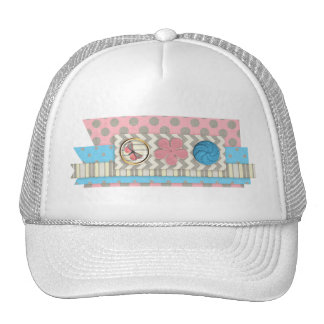 mini05 CUTE BUTTONS BUTTERFLY SCRAPBOOKING DECORAT Hats