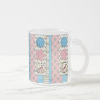 mini05 CUTE BUTTONS BUTTERFLY SCRAPBOOKING DECORAT Mug