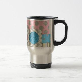 mini05 CUTE BUTTONS BUTTERFLY SCRAPBOOKING DECORAT Coffee Mugs