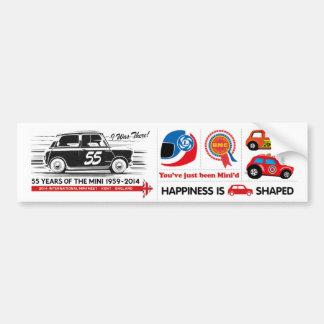 Mini 55 Sticker Sheet Bumper Sticker