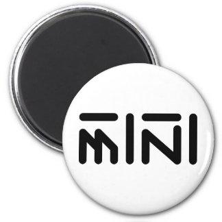 mini 6 cm round magnet