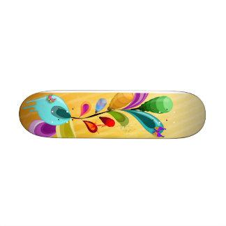 Mini Alien Flowers Skateboard Deck