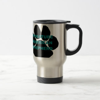 mini am shep name  paw.png stainless steel travel mug