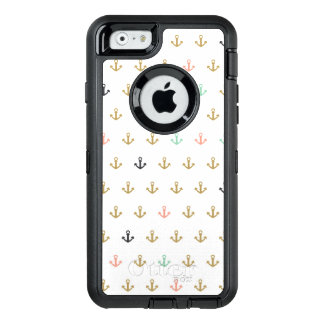 Mini Anchor Pattern OtterBox iPhone 6/6s Case