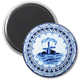 Mini Art Delft Plate Magnet
