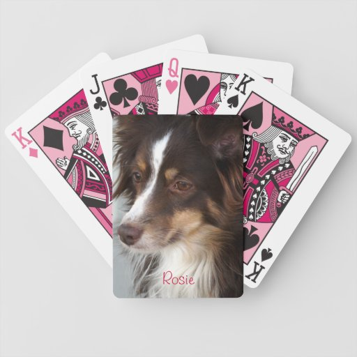Mini Australian Playing Cards- personalise Card Deck