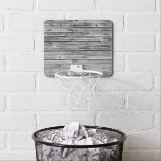 Mini Basketball Goal - Weathered Barn Wood Mini Basketball Hoop