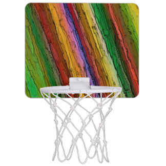 Mini Basketball Hoop - Abstract / Seam Effect