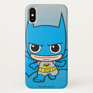 Mini Batman Running iPhone X Case