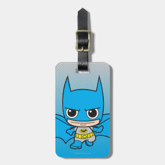 Mini Batman Running Luggage Tag