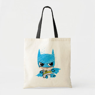 Mini Batman Sketch Tote Bag
