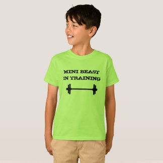 Mini Beast in Training Shirt