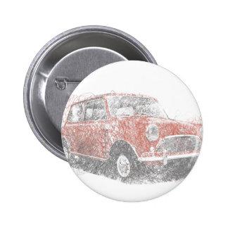 Mini (Biro) 6 Cm Round Badge