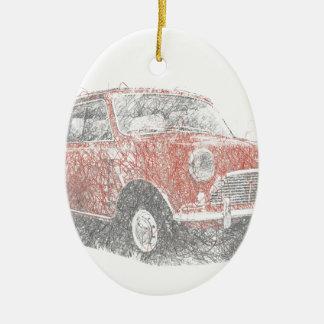 Mini (Biro) Ceramic Ornament