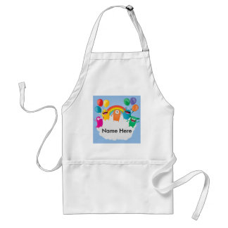 Mini Brothers Personalized Family Birthday Apron