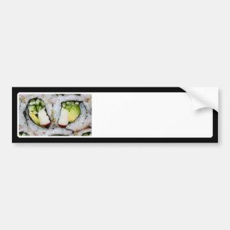 Mini California Roll - Sushi Bumper Stickers