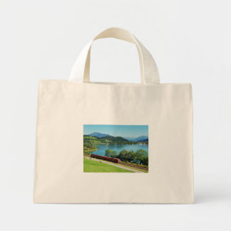 Mini carrying bag of large Alpsee with Immenstadt