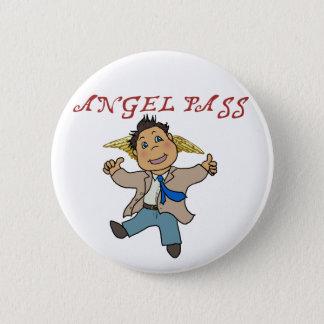 Mini Castiel Angel 6 Cm Round Badge
