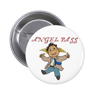 Mini Castiel Angel Pinback Buttons