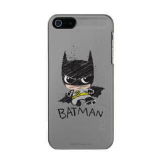 Mini Classic Batman Sketch Incipio Feather® Shine iPhone 5 Case