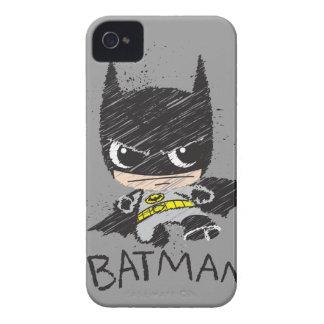 Mini Classic Batman Sketch iPhone 4 Cover