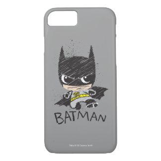 Mini Classic Batman Sketch iPhone 7 Case