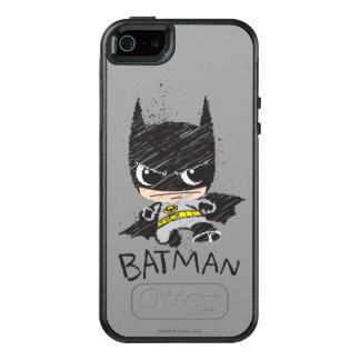 Mini Classic Batman Sketch OtterBox iPhone 5/5s/SE Case
