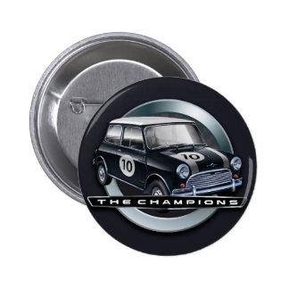 Mini Cooper S black 6 Cm Round Badge
