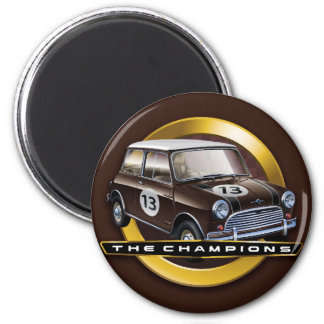 Mini Cooper S brown Magnet