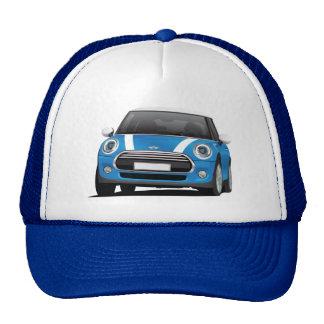 Mini Cooper S (F56) blue with white stripes Cap