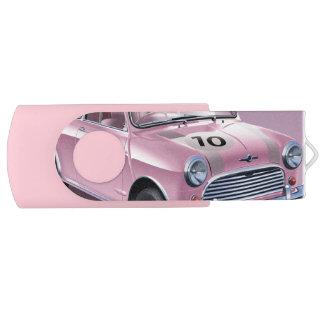 Mini Cooper S pink USB Flash Drive